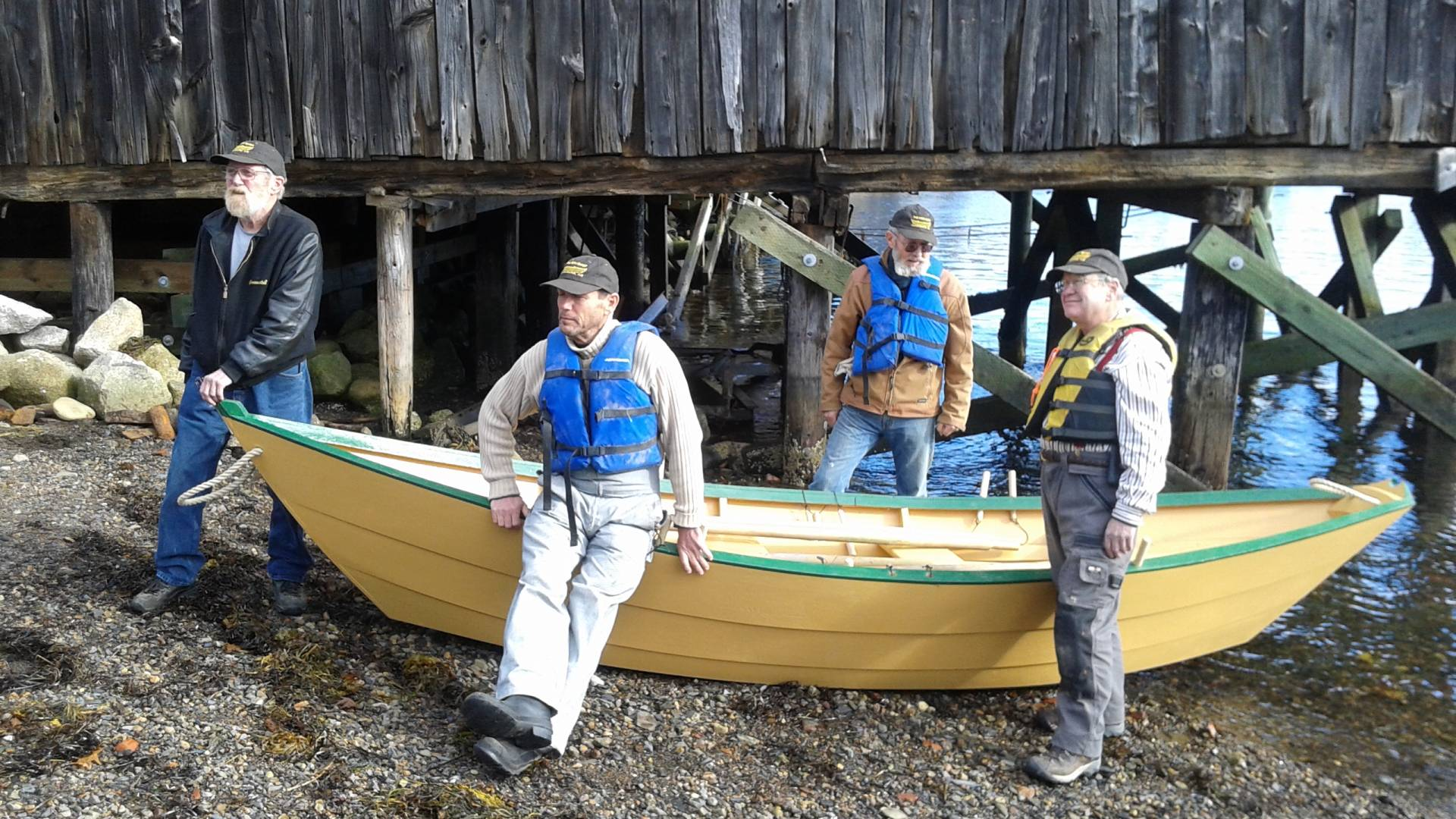 Learn to build a dory in Lunenburg